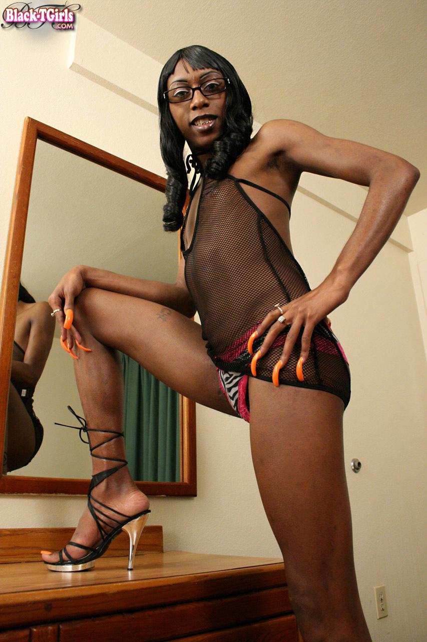 Black T-Girls Set 789