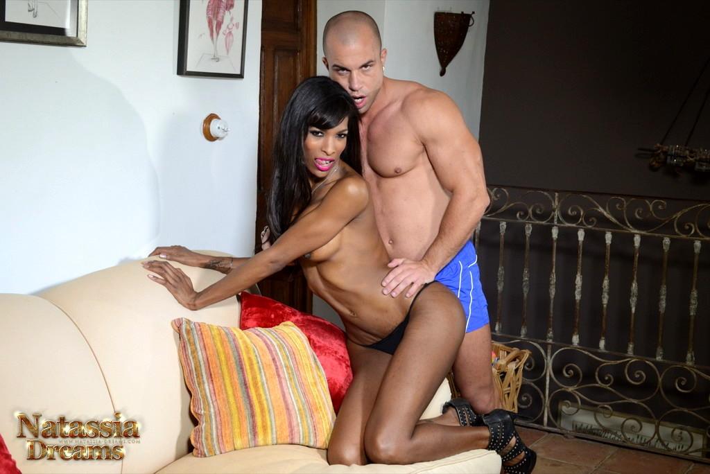 Ebony Natassia Rides A Massive Tool