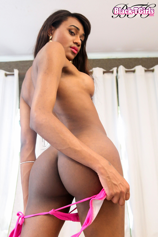 Hot Luiza Trajano Is A Racy Skinny Brazilian Ladyboy With
