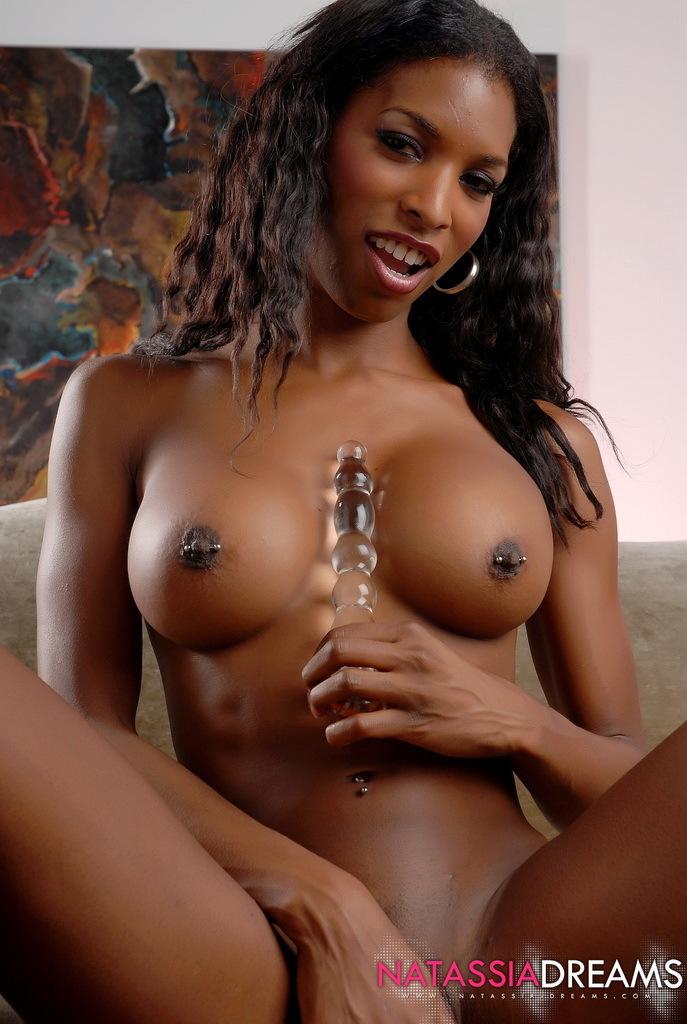 Ebony transexual