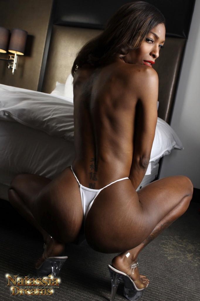 Natassia Shaking Her Booty Dick