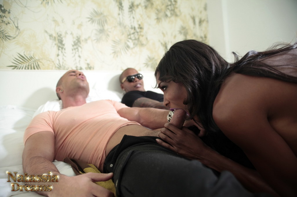 Natassia Taking Two Massive Cocks