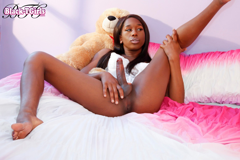 Naughty Black Femboy Tyra Alice Has A Arousing Face, A Stunnin