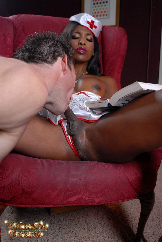 Nurse Natassia Bangs Her Patient