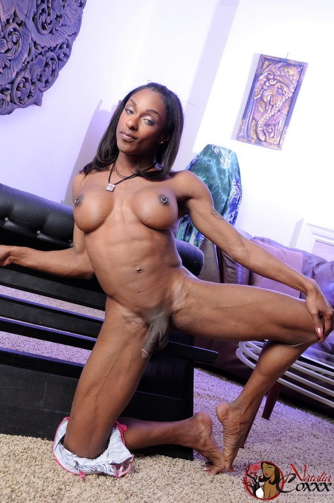 Perfect Ebony Goddess Natalia Coxxx Posing