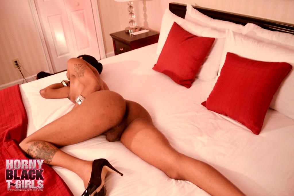Sexy Ebony Hottie Babydoll Stripping And Posing