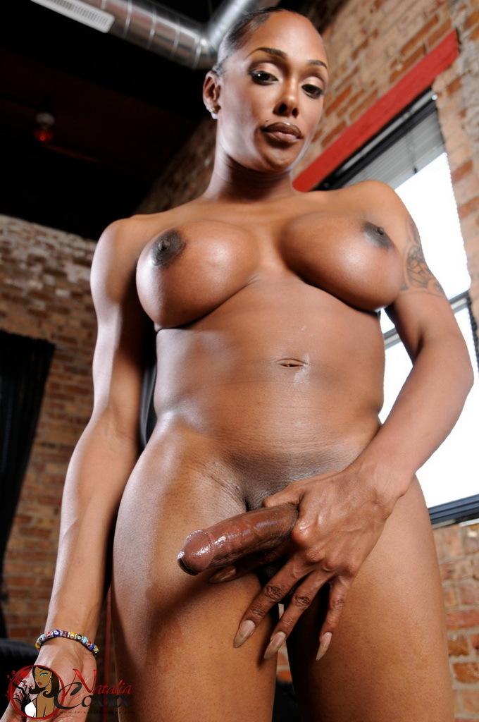 Tempting Natalia Wanks Her Long Penis