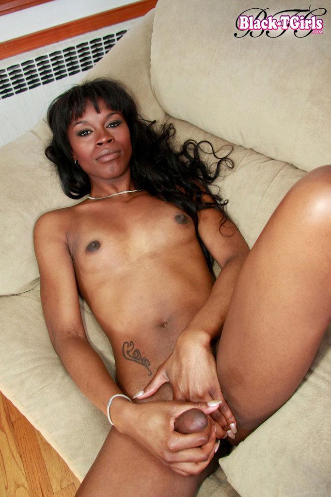 Young Ebony Shemale Babe